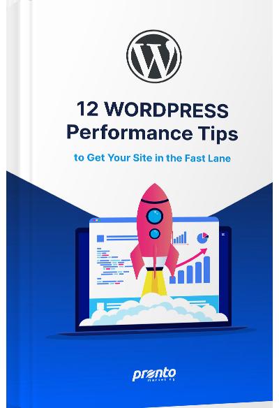 WordPress Performance Tips Ebook Cover