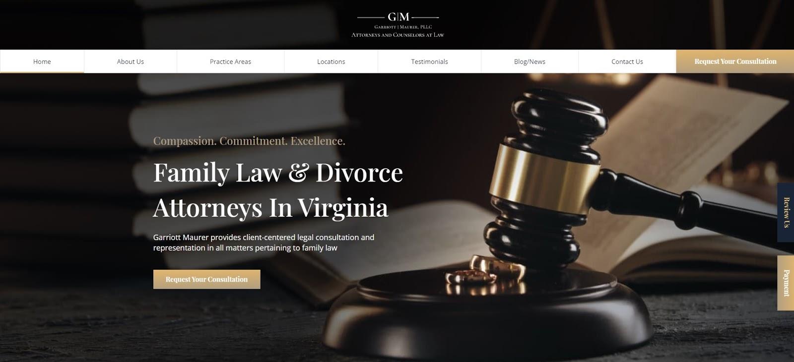 Garriott Maurer homepage