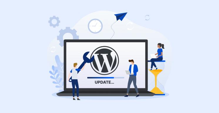 Wordpress-Update2021-PT-Blue